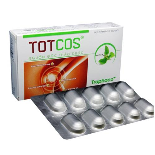 Xương khớp Traphaco Totcos, Hộp 30 viên